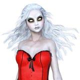 Horror make up woman Royalty Free Stock Image