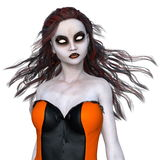 Horror make up woman Stock Photography