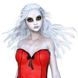 Horror make up woman Royalty Free Stock Photography