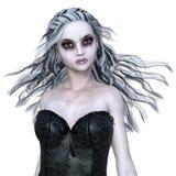 Horror makeup woman Royalty Free Stock Image