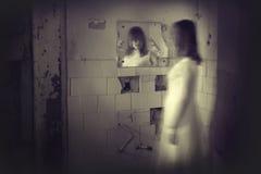 Horror movie scene. A scene from a horror movie royalty free stock photography