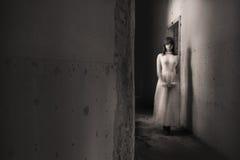 Horror movie scene. A scene from a horror movie Royalty Free Stock Photo
