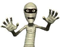 Horror mummy. Horror cartoon 3d Egyptian mummy Stock Photo