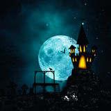 Horror and mystery backgrounds Stock Photo