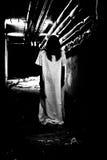Horror o escena asustadiza Foto de archivo libre de regalías