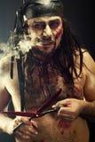 Horror Portrait Stock Images