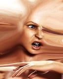 Horror przerażająca Głowa 5 Fotografia Royalty Free