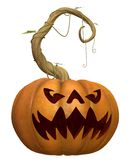Horror pumpkin 1 Royalty Free Stock Photos