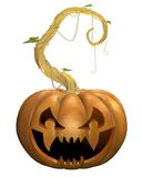 Horror pumpkin 2 Royalty Free Stock Image