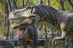 Horror Tyrannosaurus Rex Stock Images
