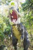 Horror Tyrannosaurus Rex Stock Photo