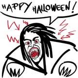 Horror vampire Royalty Free Stock Photo