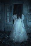 Horrorfilmszene lizenzfreies stockbild
