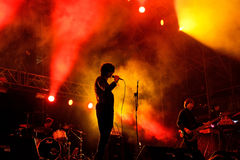 The Horrors (band) performs at MBC Fest Stock Image