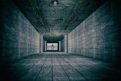 Horrorszene der psychiatrischer Anstalt Stockbilder