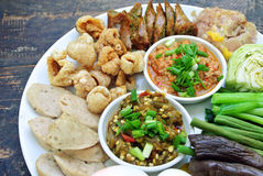 Hors-d'oeuvre ,Thai food Stock Photography