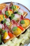 Hors d'oeuvres Royalty Free Stock Images