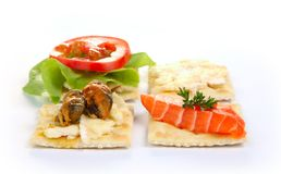 Hors d'oeuvres Stock Images