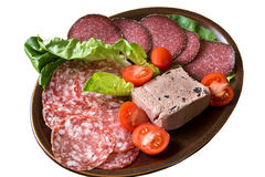 Hors d'Oeuvres platte Stock Photos
