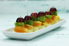 Hors d'oeuvres toothpicks Royalty Free Stock Photography