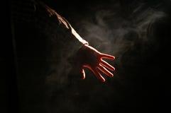 Hors de l'obscurité Image libre de droits