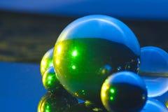Hors des boules du ce monde Image stock