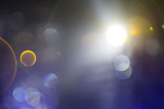 Hors des lumières de studio de foyer Photographie stock libre de droits