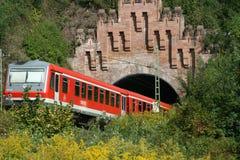Hors du tunnel Photo stock