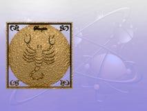 Horóscopo, escorpión Fotos de archivo libres de regalías