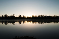 Horse湖营地,威廉斯, AZ 免版税库存图片