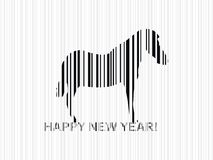 Horse 2014 Royalty Free Stock Image