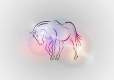Horse abstract Royalty Free Stock Photos