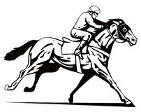 Horse And Jockey Stock Images