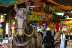 Horse. Art in london Stock Photography