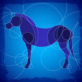 Horse Background Royalty Free Stock Photos