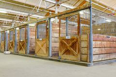 Horse barn Royalty Free Stock Images