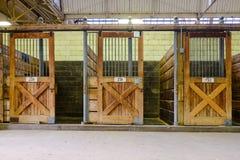 Horse barn Stock Image