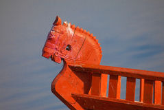 Horse Boat Royalty Free Stock Photo