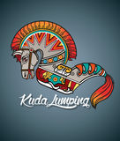 Kuda Lumping or Horse braid Royalty Free Stock Images