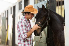 Horse breeder Royalty Free Stock Photo