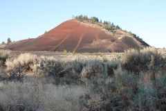 Horse Butte Reclamation stock image