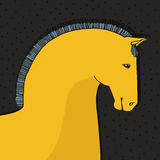 Horse Card Royalty Free Stock Image