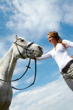 Horse care Royalty Free Stock Photos