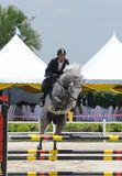 Horse Carnival Selangor Turf Club: Showjumping Royalty Free Stock Photos