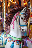 Horse on a carousel Royalty Free Stock Photos
