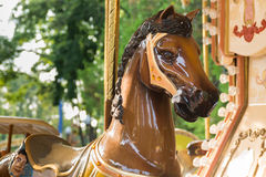 Horse carousel Royalty Free Stock Images