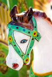 Horse of a carousel Royalty Free Stock Photo