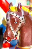 Horse of a carousel Royalty Free Stock Images