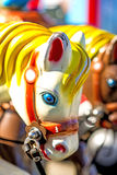 Horse of a carousel Stock Photography