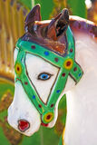 Horse of a carousel Royalty Free Stock Photos